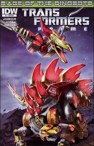 Transformers Prime: Rage of the Dinobots 2-B by IDW