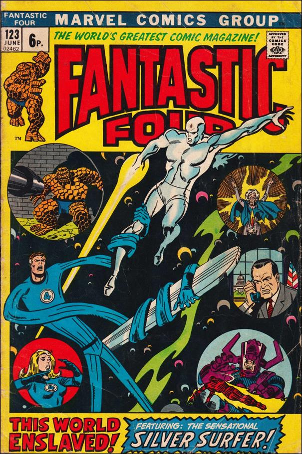 Fantastic Four (1961) 123-B by Marvel