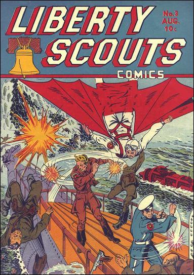 Liberty Scouts 3-A by Centaur Publications Inc.