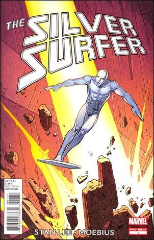 Silver Surfer by Stan Lee and Moebius 1-A by Marvel