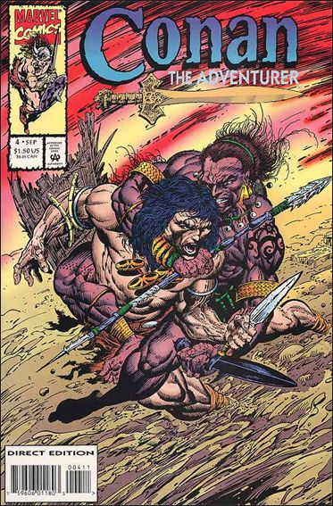 Conan the Adventurer 4-A by Marvel