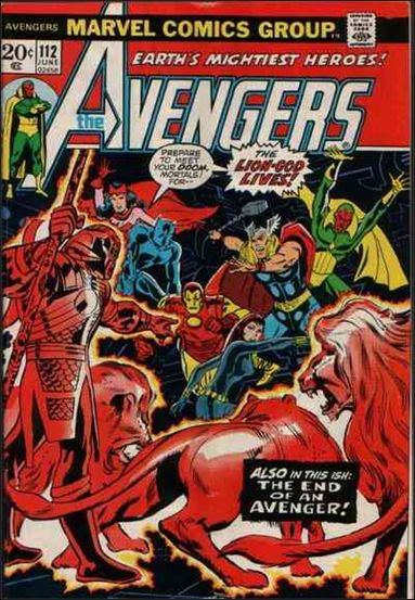 Avengers (1963) 112-A by Marvel
