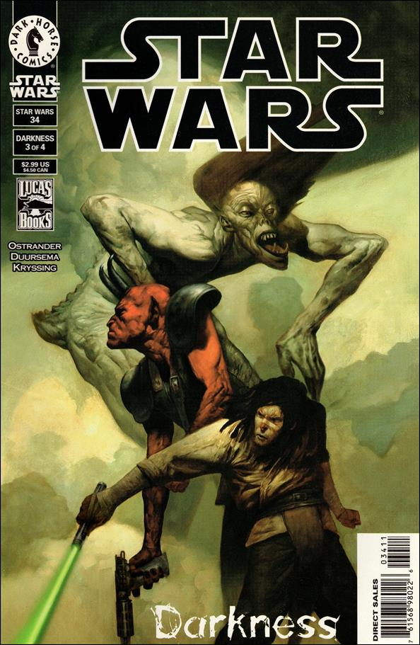 Star Wars/Star Wars Republic 34-A by Dark Horse