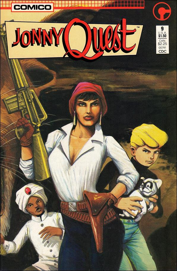 Jonny Quest (1986) 9-A by Comico