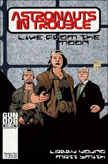 Astronauts In Trouble: Live From the Moon 1-A by Gun Dog Comics