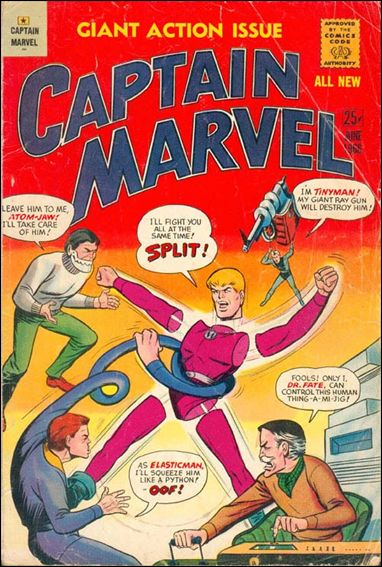 Captain Marvel (1966) 2-A by M.F. Enterprises