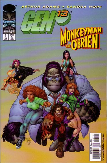 Gen13/Monkeyman & O'Brien 1-A by Image