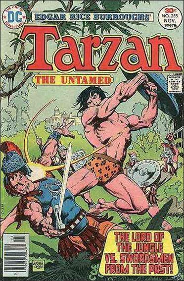 Tarzan (1972) 255-A by DC