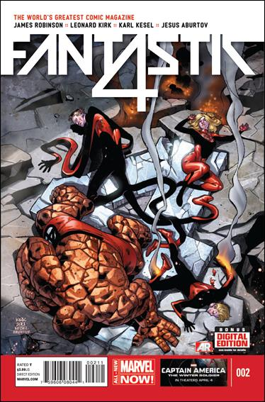 Fantastic Four (2014) 2-A by Marvel