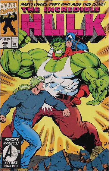 Incredible Hulk (1968) 406-A by Marvel