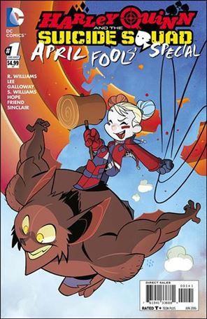 Harley Quinn & The Suicide Squad April Fools' Special 1-B