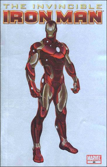 Invincible Iron Man (2008) 25-F by Marvel