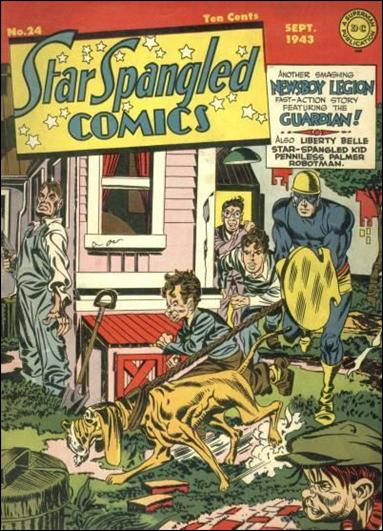 Star Spangled Comics (1941) 24-A by DC
