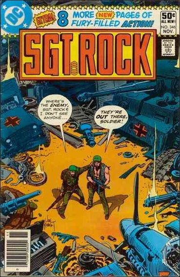 Sgt. Rock (1977) 346-A by DC