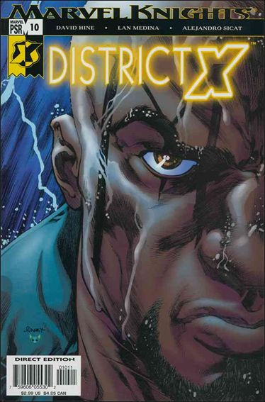District X 10-A by Marvel