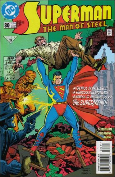 Superman: The Man of Steel 80-A by DC