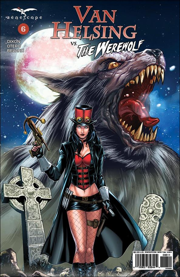 Van Helsing vs the Werewolf 6-A by Zenescope Entertainment