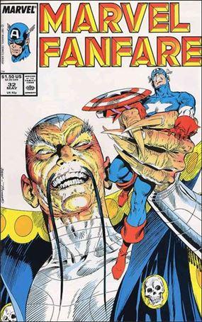 Marvel Fanfare (1982) 32-A
