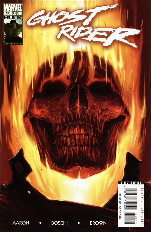 Ghost Rider (2006) 23-A by Marvel