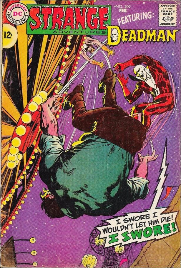 Strange Adventures (1950) 209-A by DC