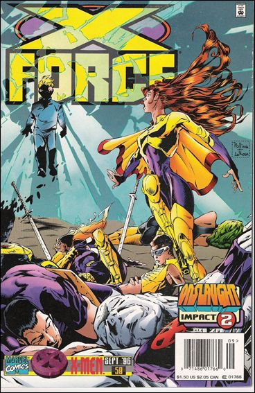 X-Force (1991) 58-B by Marvel