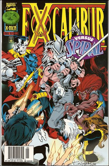 Excalibur (1988) 109-B by Marvel