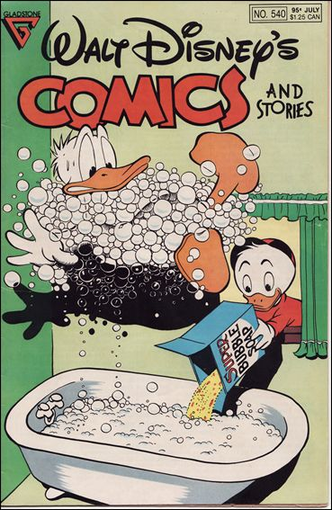 Walt Disney's Comics and Stories (1940) 540-A by Dell