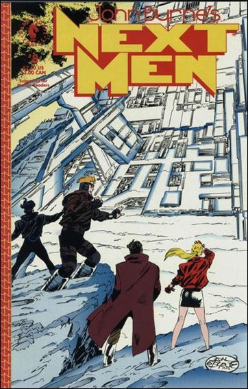 John Byrne's Next Men (1992) 8-A by Dark Horse