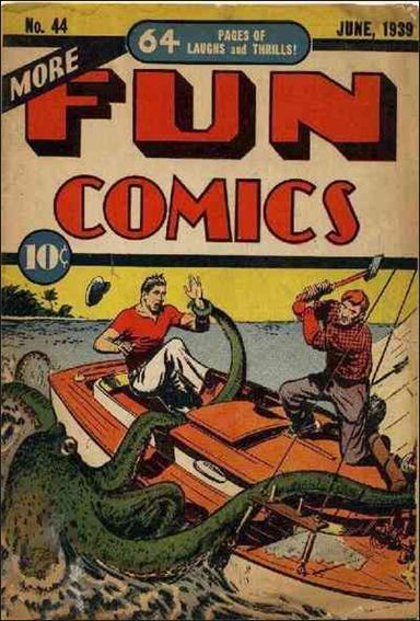 More Fun Comics 44-A by DC