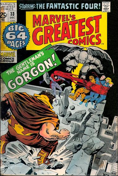 Marvel's Greatest Comics 33-A by Marvel