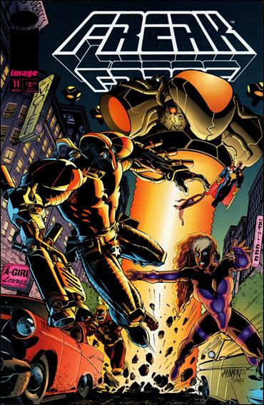Freak Force (1993) 11-A by Image