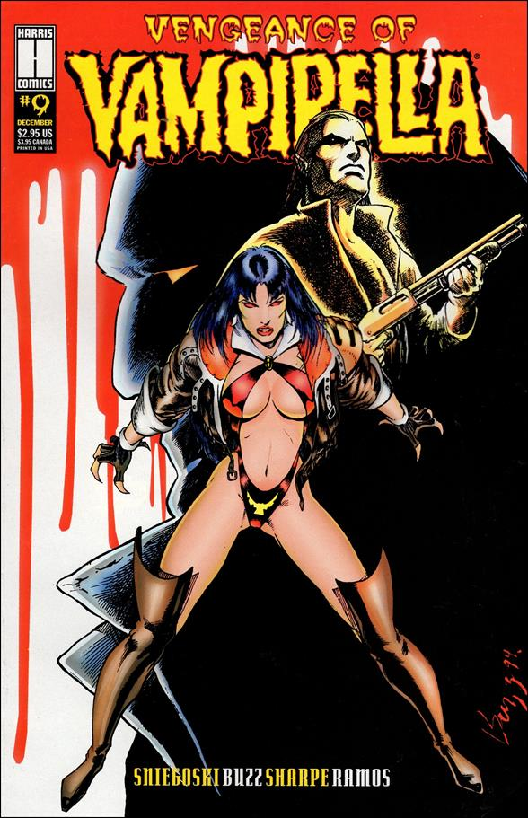 Vengeance of Vampirella 9-A by Harris