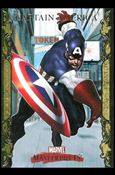 2007 Marvel Masterpieces (Parallel Gold Border Base Set) 16-A