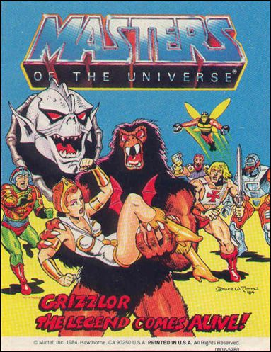 Masters of the Universe (1983) 4.6-A by Mattel