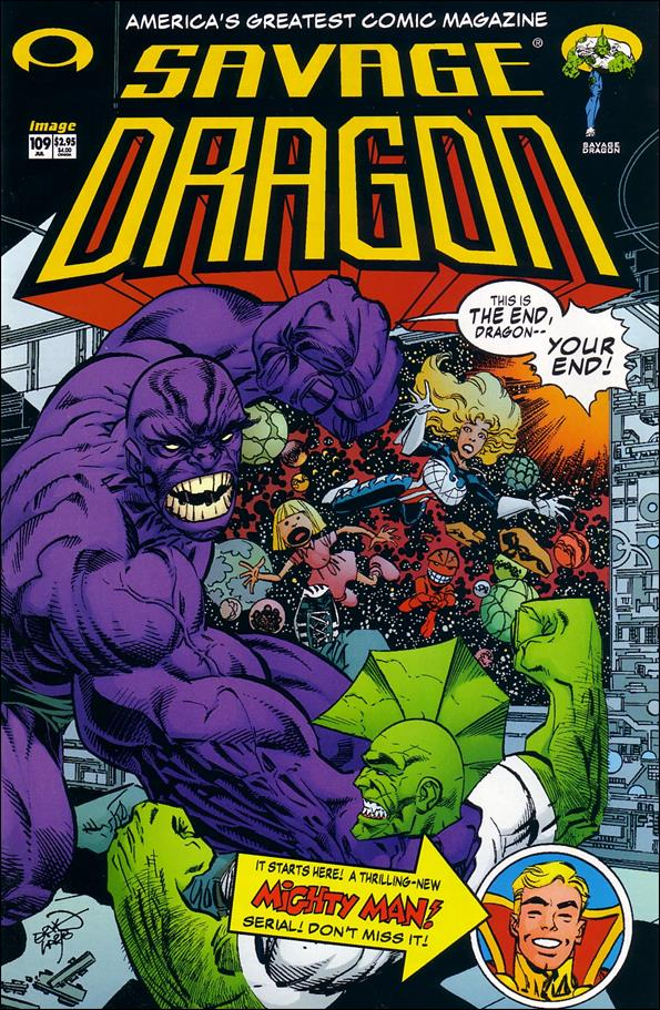 Savage Dragon (1993) 109-A by Image