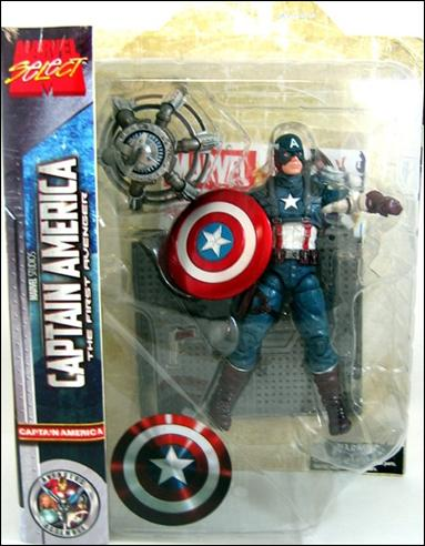 Marvel Select Captain America (The First Avenger) by Diamond Select