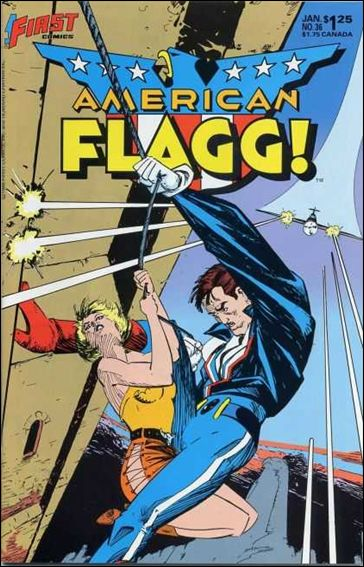American Flagg! (1983) 36-A by First