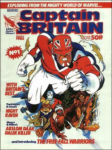 Captain Britain (UK) (1985) 1-A by Marvel