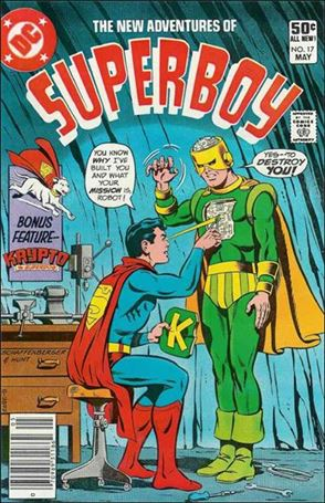 New Adventures of Superboy 17-A