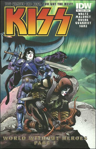 Kiss (2012) 4-A by IDW