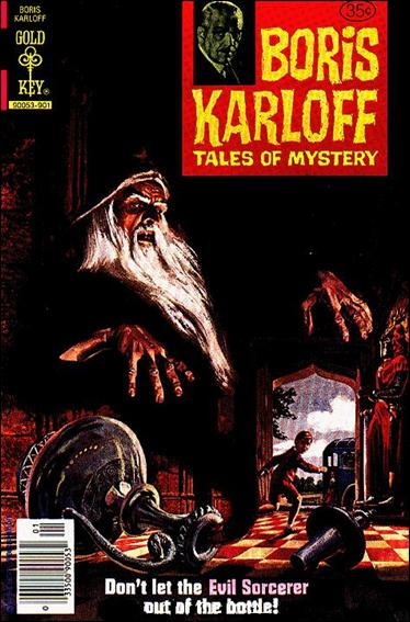 Boris Karloff Tales of Mystery 88-A by Gold Key