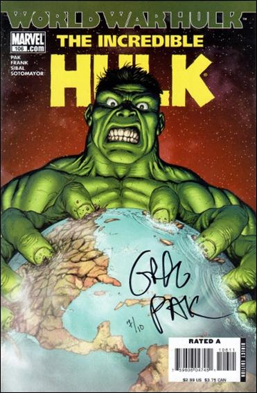 Incredible Hulk (2000)  106-D by Marvel