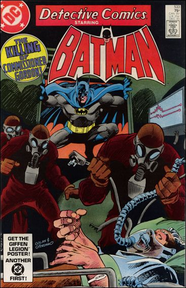 Detective Comics (1937) 533-A by DC