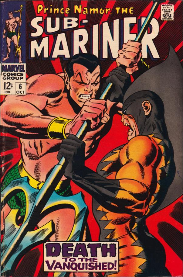 Sub-Mariner (1968) 6-A by Marvel
