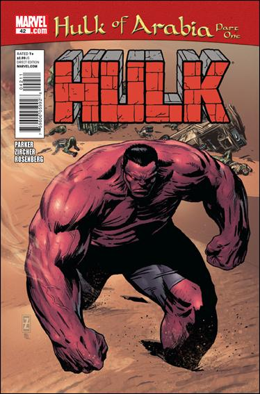 Hulk (2008)  42-A by Marvel