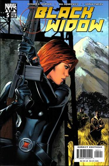 Black Widow (2004) 5-A by Marvel