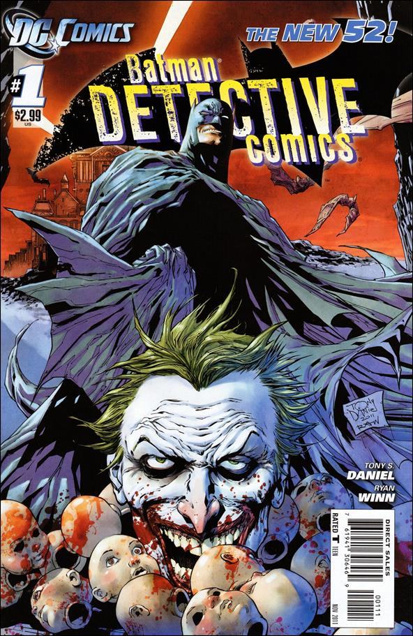 Detective Comics (2011) 1-A by DC