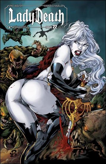 Lady Death (2010) 22-A by Boundless Comics