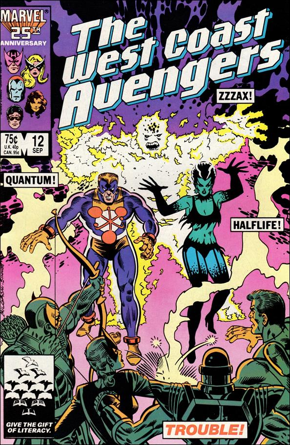 West Coast Avengers (1985) 12-A by Marvel