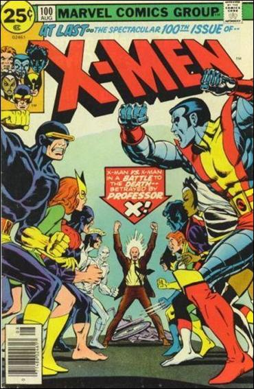 X-Men (1963) 100-A by Marvel